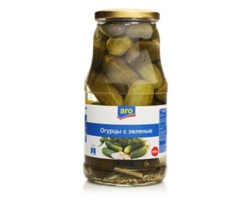 Огурцы с зеленью TM Aro (Аро)