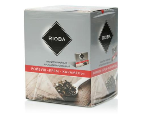 Напиток чайный Ройбуш крем-карамель 20*2 г ТМ Rioba (Риоба)