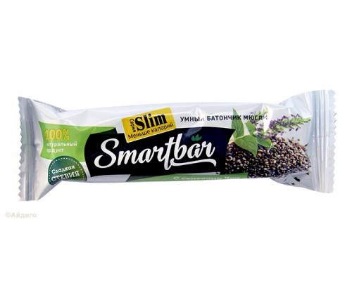 Батончики ТМ SmartBar (Смарт Бар), с семенами чиа, 25 г