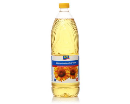Подсолнечное масло рафинированное дезодорированное ТМ Aro (Аро)