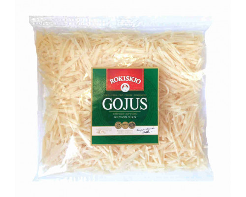 Сыр Rokiskio Gojus тертый 40% 200г