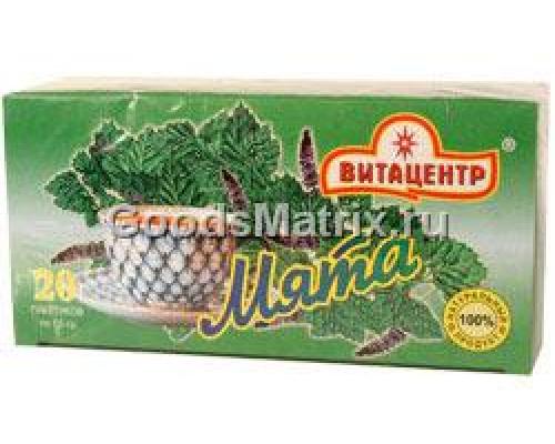 Напиток чайный ТМ Витацентр, мята, 20х2 г