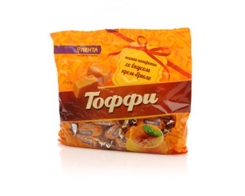 Конфеты мягкие со вкусом крем-брюле ТМ Тоффи
