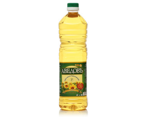 Подсолнечное масло ТМ Аведовъ