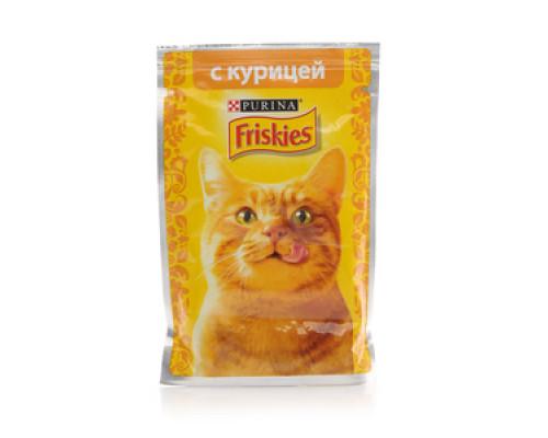 Корм для кошек с курицей в подливе ТМ Friskies (Фрискис)