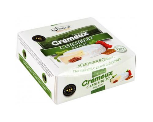 Сыр CHEEZZI Camembert 50% с белой плесенью 125 г