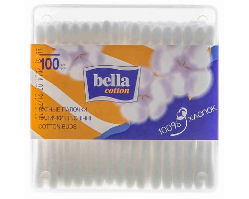 Палочки ватные Bella 100шт пл/мед