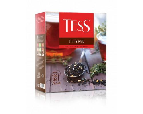 Чай черный ТМ Tess (Тесс) Thyme, в пакетиках, 100 шт.