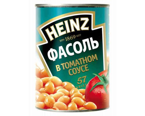 Фасоль Heinz в томатном соусе 415г ж/б