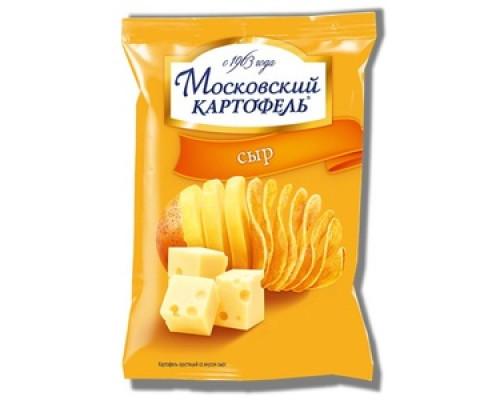 Чипсы ТМ Московский картофель, картофельные с сыром 70 г