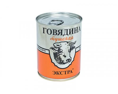 Говядина тушеная Русь ЭКСТРА высший сорт 338 г