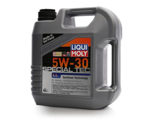 Масло моторное синтетическое 5W-30 Special Tec LL ТМ Liqui Moly (Ликви Моли)