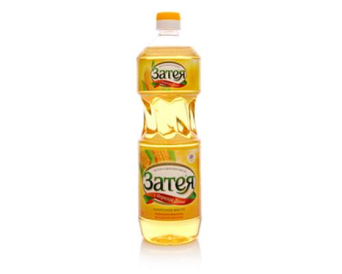 Кукурузное масло рафинированное дезодорированное ТМ Затея