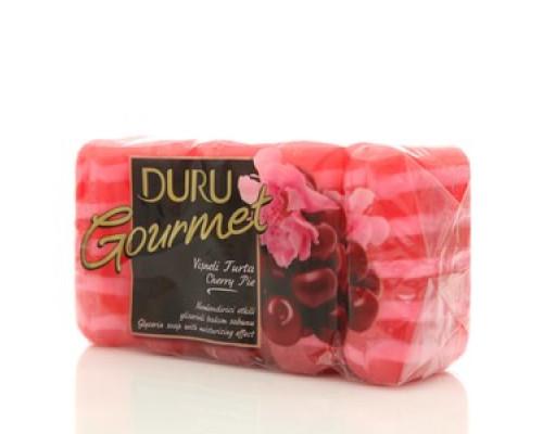 Мыло туалетное Вишневый пирог ТМ Duru (Дуру), 5*75г