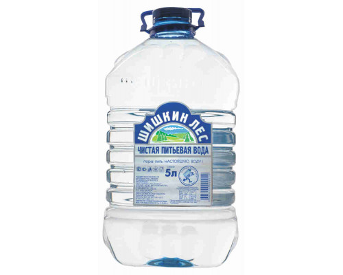 Вода питьевая Шишкин лес н/газ 5л пэт