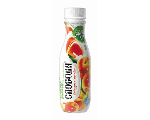 Биойогурт питьевой Слобода персик 2% 290г