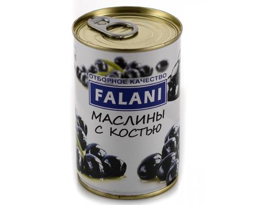 Маслины ТМ Falani (Фалани) с косточкой, 280 г
