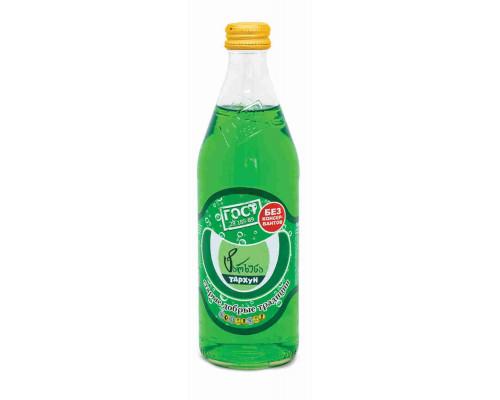 Напиток Старые добрые традиции Тархун б/алк газ 0.5л ст/б