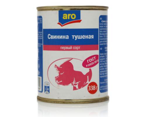 Свинина тушеная Первый сорт ТМ Aro (Аро)