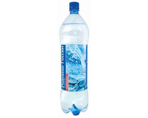 Вода питьевая Родники России газ мин столовая 1,5л