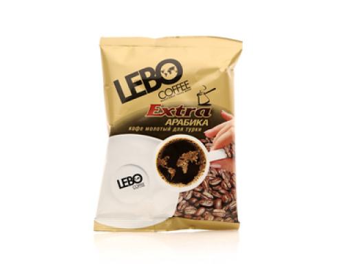 Кофе натуральный жареный молотый ТМ Lebo (Лебо)