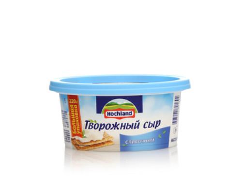 Сыр творожный Сливочный 60% ТМ Hochland (Хохланд)