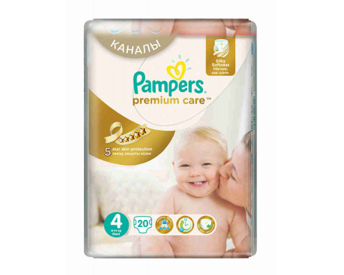 Подгузники PAMPERS Premium Care Maxi 20