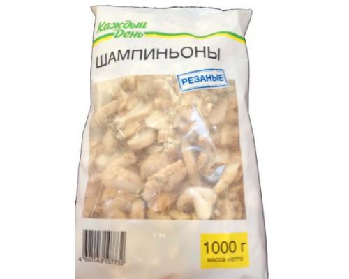Шампиньоны резаные Каждый день, 1 кг