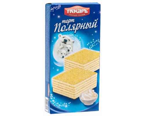 Торт вафельный Пекарь Полярный 213г