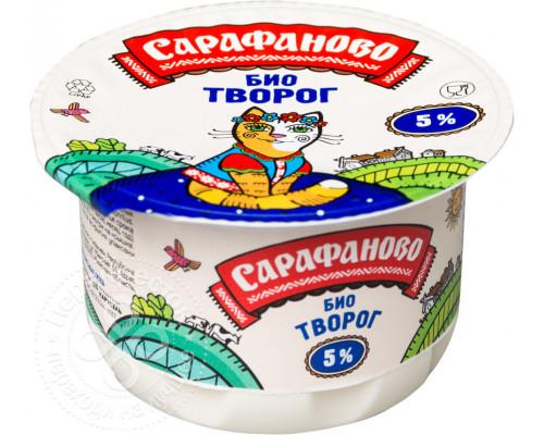 Биотворог ТМ Сарафаново, детский, 5%, 180 г