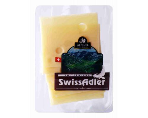 Сыр Alpino SwissAdler 45% 140г нарезка