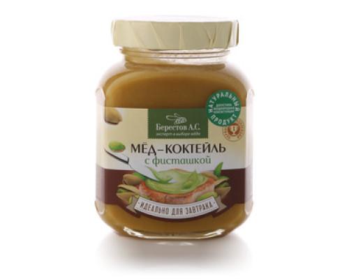 Мед-коктейль с фисташкой ТМ Берестов А.С.