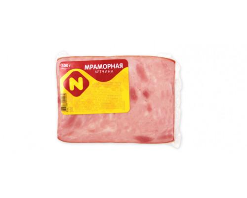 Ветчина Мраморная ТМ Останкино, 300 г