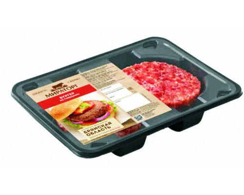 Бургер из говядины Black Angus ТМ Мираторг, 200 г