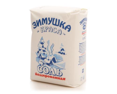 Соль йодированная ТМ Зимушка-краса