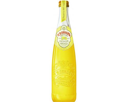 Лимонад ТМ Калиновъ Классическій Лимонадъ, 0,5 л