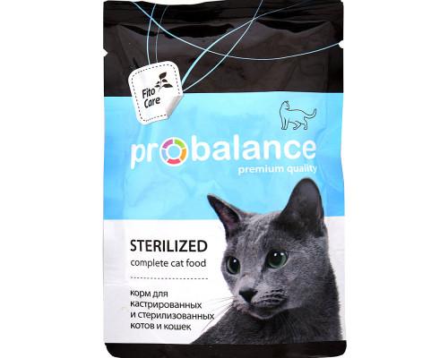 Корм консервированный ТМ ProBalance (ПроБаланс) Sterilized, для стерилизованных кошек и кастрированных котов, 85 г