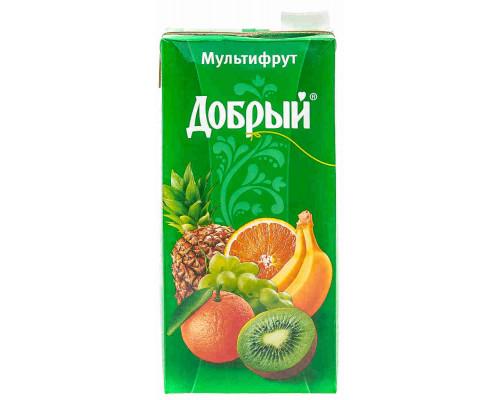 Нектар Добрый смесь фруктов 2л т/п
