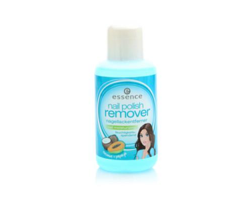 Жидкость для снятия лака Nail polish Remover nagellackentferner  nail moisturizing cocnut & papaya TM Essence (Эссенсе)