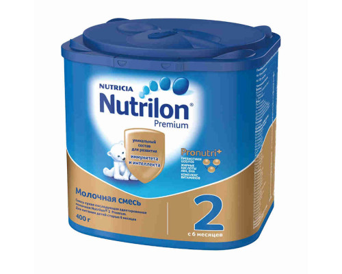 Смесь молочная Nutrilon 2 с 6мес 400г