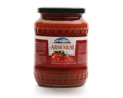 Томаты в томатном соке ТМ Armenium (Армениум)