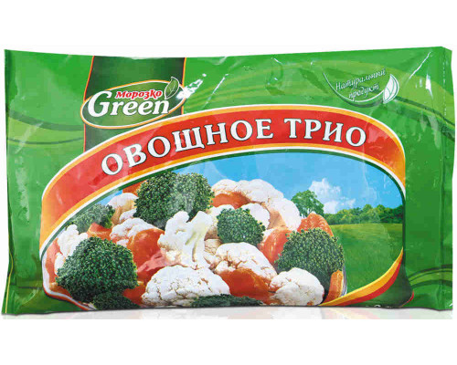 Овощное трио Морозко Green 400г