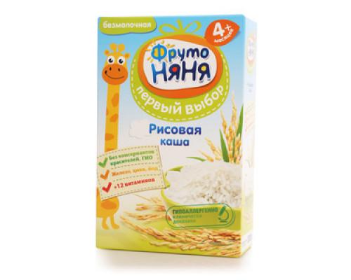Каша рисовая ТМ ФрутоНяня