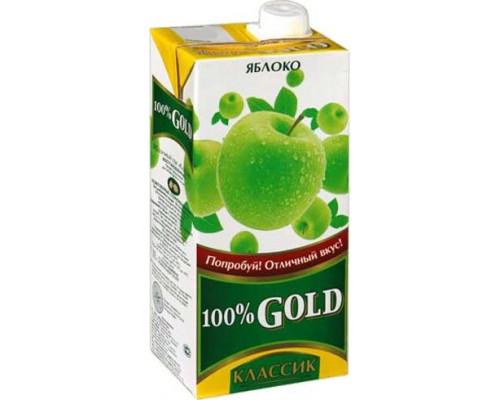Напиток сокосодержащий ТМ 100% Gold Классик Яблоко, 1,93 л