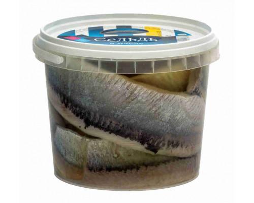 Сельдь А`море филе в масле 900г