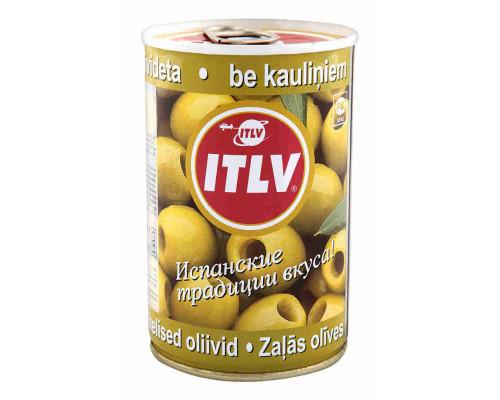 Оливки зеленые Itlv б/к 300г ж/б