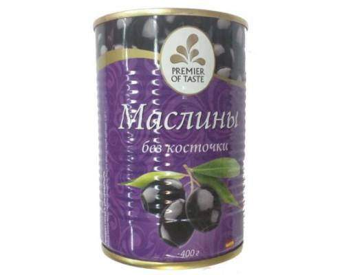 Премьер оф тейст маслины ж/ б б/ кост 425г (Охибланко)