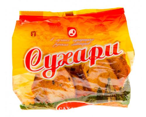 Сухари Сахарные ТМ Маска, с изюмом, 300 г