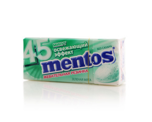 Жевательная резинка Зеленая мята ТМ Mentos (Ментос)