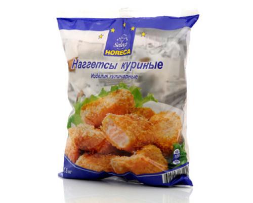 Наггетсы куриные ТМ Horeca Select (Хорека Селект) 1,5 кг
